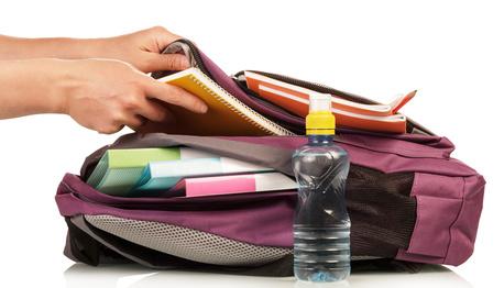 Eine Schultasche packen