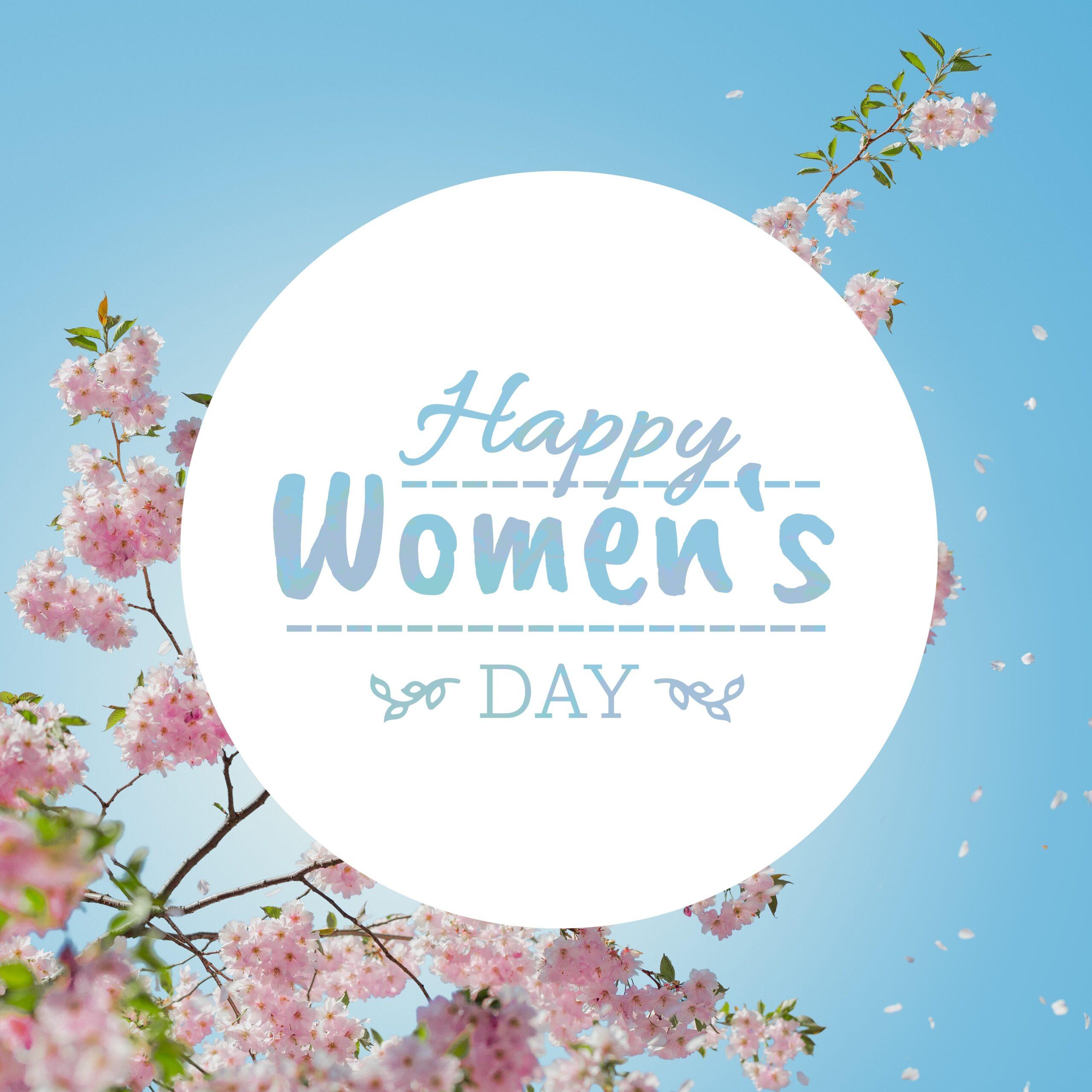 Blumengruß zum Frauentag